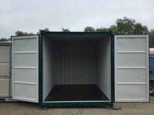 medium shipping container storage unit