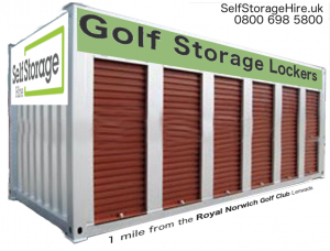 royal norwich golf club storage unit
